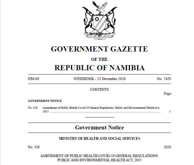 Gov Gazette 23122020