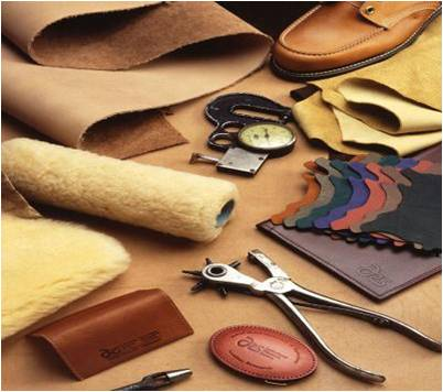 manufacturing leather